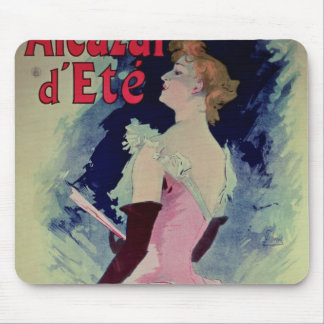 "Poster advertising ""Alcazar d'Ete"" Mouse Pad"