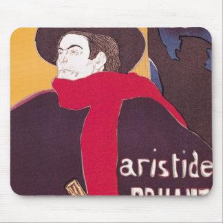 Poster advertising Aristide Bruant Mousepad