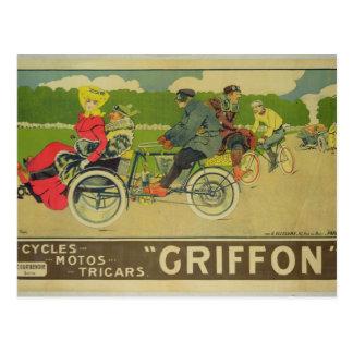 Poster advertising postcard