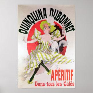Poster advertising Quinquina Dubonnet'