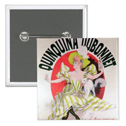 Poster advertising Quinquina Dubonnet' Pins