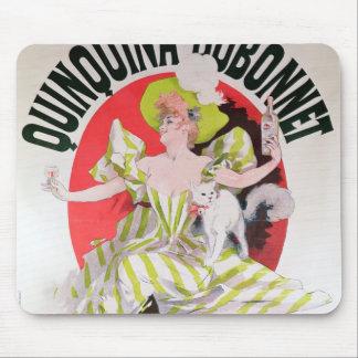 Poster advertising Quinquina Dubonnet' Mouse Pad