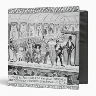 Poster advertising, 'The Barnum and Bailey Binders