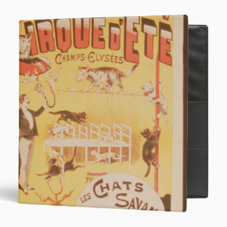 Poster advertising the Cirque d'Ete in the Binder