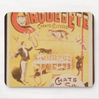 Poster advertising the Cirque d'Ete in the Mousepad