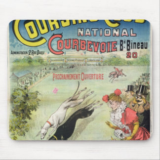 Poster advertising the opening of Coursing Mouse Pad