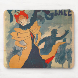 Poster advertising the Palais de Glace Mouse Pad