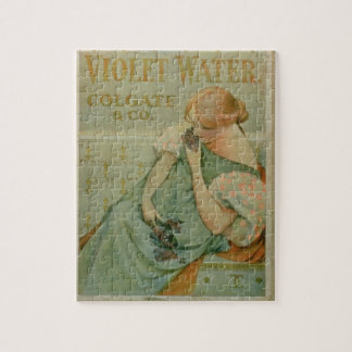 Poster advertising 'Violet Water', by Colgate & Co Jigsaw Puzzle