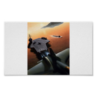 Poster Aircraft Carrier