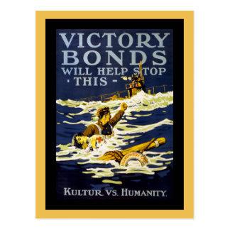 Poster Art WWI Postcard