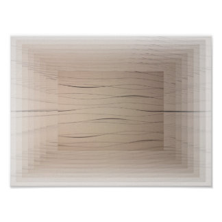 Poster Beige Abstract Art