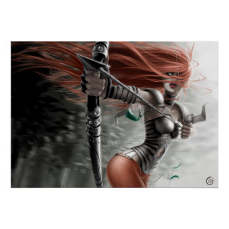 POSTER/CANVAS PRINT · Archer