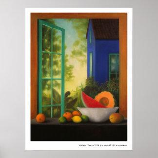 "Poster:  ""Casa Azul"" Poster"