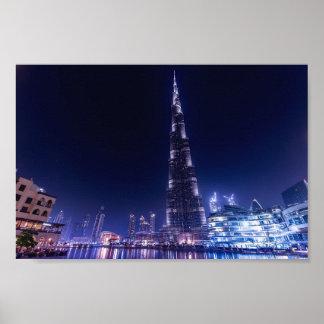 Poster - City Skyline Dubai
