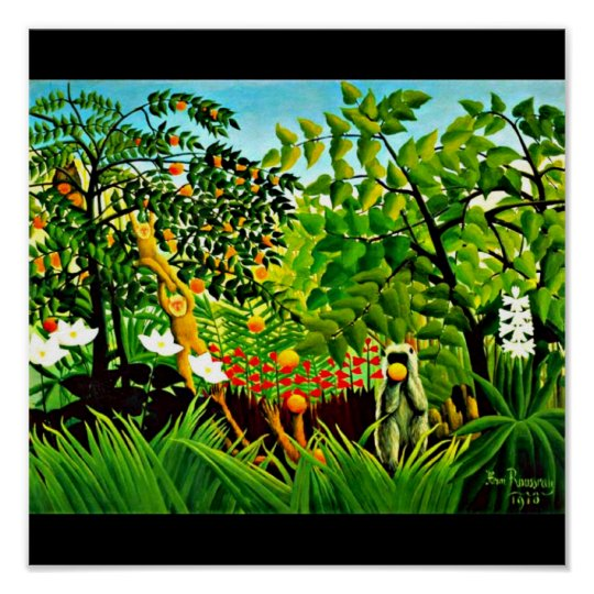 Poster-Classic/Vintage-Henri Rousseau 9 Poster