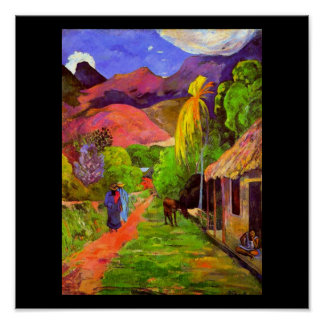 Poster-Classic/Vintage-Paul Gauguin 4 Poster
