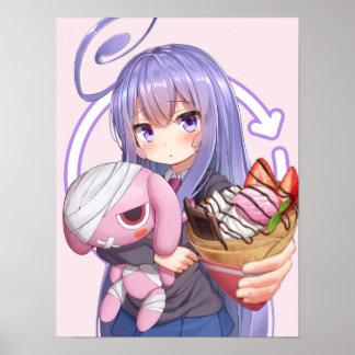 Poster Daisuki aucune crêpe