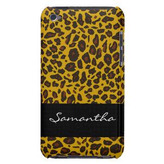 Poster de animal customisé de léopard étuis iPod touch