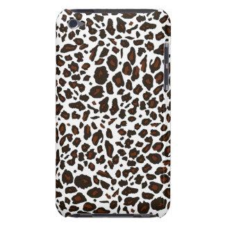 Poster de animal de léopard de neige coque iPod Case-Mate