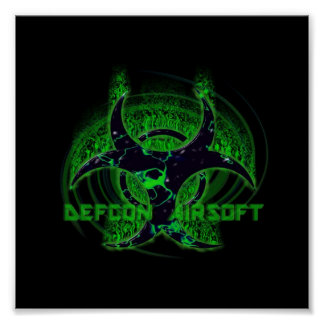 Poster DEFCON AIRSOFT