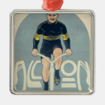 Poster depicting Francois Faber Metal Ornament