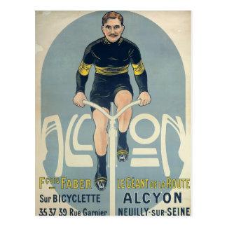Poster depicting Francois Faber Postcard
