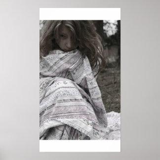 Poster Emotional Girl Sheets
