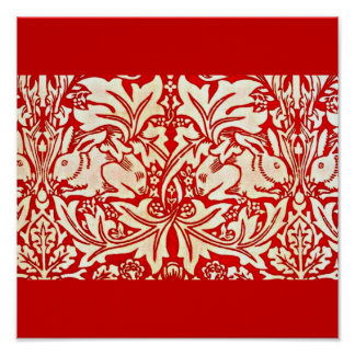 Poster-Fashion/Fabric-William Morris 11 Poster