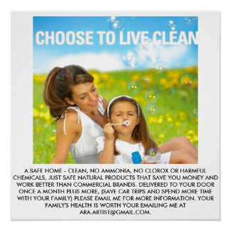 POSTER FOR CLEAN HOME ENVIRONMENT-CHILDREN PERFECT POSTER