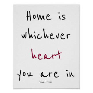 Poster for Framing Home is Wherever Your Heart is