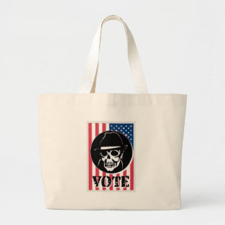 Poster for the next election jumbo tote bag