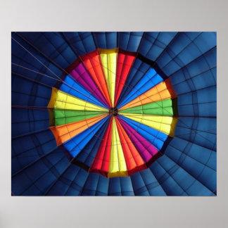 Poster Inside Hot Air Balloon