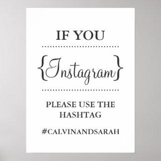 Poster - Instagram Message