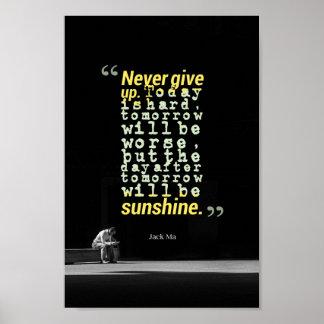 Poster Jack ma