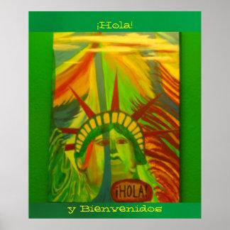 Póster - La Estatua de la Libertad - ¡Hola! Poster
