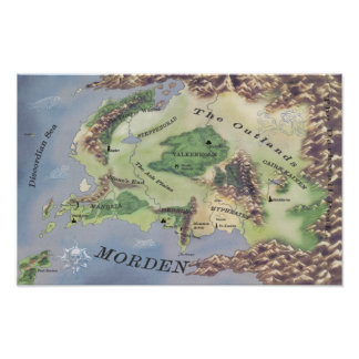 Poster Map of Morden