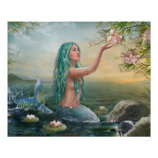 poster Mermaid Ariel
