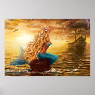 Poster Mermaid Fantasy
