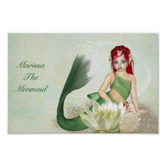 Poster--Mermaid Poster