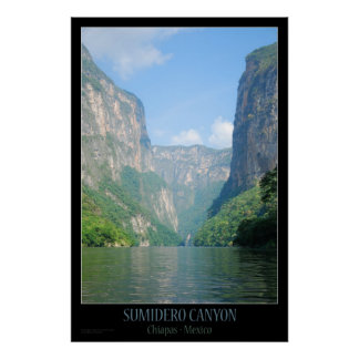 Poster   Mexico - Sumidero Canyon