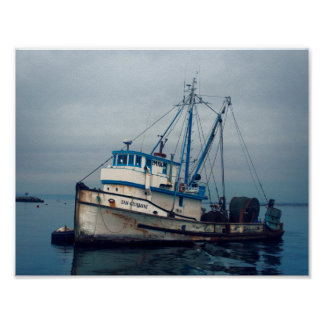 Poster - Monterey Bay Fishing Boat San Giovanni