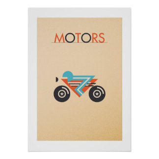 Poster MOTORS: The bike