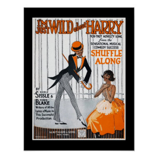 Poster Music Covers I'm Just Wild About Harry 1921
