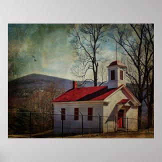 Poster-Nevele Schoolhouse