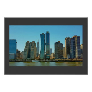 Poster ... New York Skyline