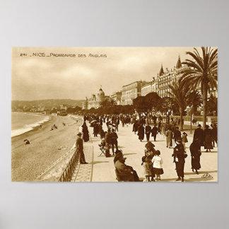 Poster, Nice, Promenade des Anglais Poster
