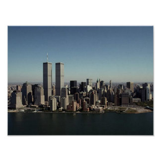 POSTER NYC~ In Memoriam ~ Twin Towers