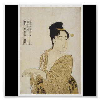 Poster of Japanese painting c. 1792-93