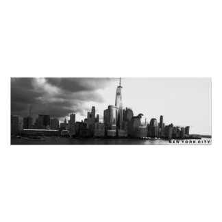 Poster of Lower Manhattan and the Freedom Tower