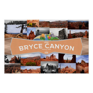 Poster of the Bryce Canyon National Park
